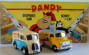 【送料無料】模型車 モデルカー スポーツカー コーギーコミックダンディダンベッドフォードモリスcorgi comic classics the dandy desperate dan amp; corky the cat bedford ca morris j