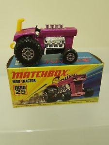 【送料無料】模型車 モデルカー スポーツカー マッチトターmatchbox 25 mod tractor