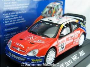 【送料無料】模型車 モデルカー スポーツカー シトロエンクサララリーモデルカースケールローブエレナcitroen xsara wrc 2003 rally model car 143 scale solido 1592 loeb elena k8q