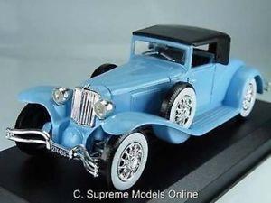 【送料無料】模型車 モデルカー スポーツカー コードクモサイズカーモデルドアバージョン1929 cord l 29 spider 143 size car model 2 door roof up version boxed r0154x{}
