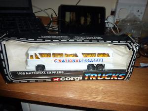 【送料無料】模型車 モデルカー スポーツカー コーギートラックナショナルエクスプレスバスミントボックス