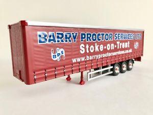 【送料無料】模型車 モデルカー スポーツカー コーギーサイドカーテントレーラーモデルバリープロクターcorgi curtainside trailer model only barry proctor cc99169 150
