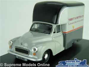 【送料無料】模型車 モデルカー スポーツカー モーリスマイナーモデルヴァンガウンブリテンスケールオックスフォードmorris minor model van gown tibbett amp; britten 143 scale oxford mm034 k8