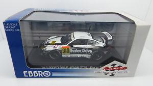 【送料無料】模型車 モデルカー スポーツカー ポルシェグアテマラグアテマラロデオドライブebbro 292 jgtc 2002 porsche 911 gt3 910 rodeo drive advan gt3r car 143 mib