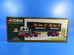 【送料無料】模型車 モデルカー スポーツカー corgi classics 14303 eddie stobart foden s21 artic trailer amp; containers, mib