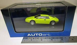 【送料無料】模型車 モデルカー スポーツカー ロータスエスプリタイプautoart 55311 lotus esprit type 79 in yellow  boxed143