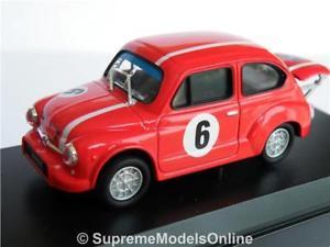 【送料無料】模型車 モデルカー スポーツカー フィアットアバルトラリーカーモデルバージョンレッドクラシックfiat 600 abarth rally car model 143rd size red classic solido version r0154x{}