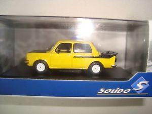 【送料無料】模型車 モデルカー スポーツカー ミニチュアラリーjuin 2018 miniature simca 1000 rallye 2 1974 jaunenoire 143 solido