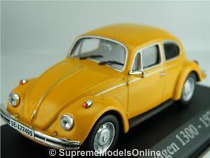 【送料無料】模型車 モデルカー スポーツカー フォルクスワーゲンビートルモデルサイズオレンジドアバージョンvolkswagen beetle 1300 1970 car model 143rd size orange 2 door version r014x{}