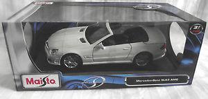 【送料無料】模型車 モデルカー スポーツカー スケールメルセデスベンツmaisto 118 scale special edition mercedes benz sl63 amg  amp; sealed