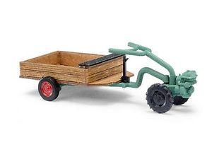 【送料無料】模型車 モデルカー スポーツカー ブッシュトターユニバーサルトレーラbusch 59912 h0 traktor irus universal einachser u300 kanhnger