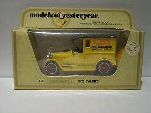 【送料無料】模型車 モデルカー スポーツカー モデルタルボットヴァンオリジナルボックスmodels of yesteryear y5 talbot van merita old fashioned, in originalbox