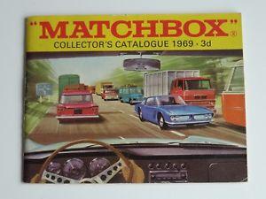 【送料無料】模型車 モデルカー スポーツカー マッチカタログmatchbox lesney catalogue 1969 2