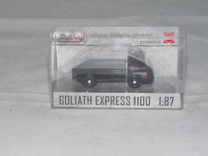 【送料無料】模型車 モデルカー スポーツカー ブッシュゴリアテエクスプレスプラットフォームトラックbusch 94220 goliath express 1100 pritschenwagen edition goliath werk 187 n