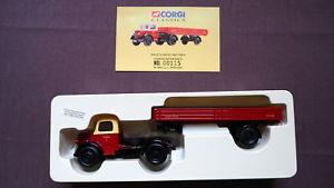 【送料無料】模型車 モデルカー スポーツカー ベッドフォードシリーズドロップサイドトレーラコーギークラシック18403 british railways bedford o series dropside trailer corgi classics