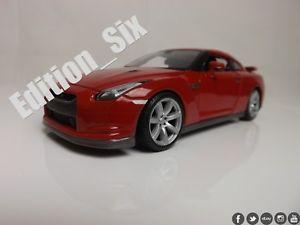 【送料無料】模型車 モデルカー スポーツカー スケールモデルスカイラインゴジラスポーツmaisto 124 nissan skyline gtr r35 godzilla red scale model jdm sports car