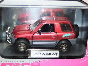 【送料無料】模型車 モデルカー スポーツカー テックモデルトヨタmtech models toyota rav4 red