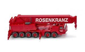 【送料無料】模型車 モデルカー スポーツカー バイキングクレーングローブ063204 wiking autokran grove rosenkranz 187