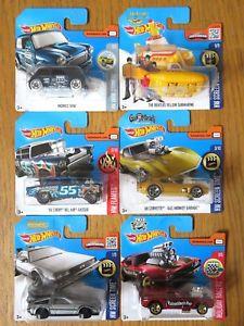 【送料無料】模型車 モデルカー スポーツカー ロットガスドビートルズミニhotwheels 6 lot, gas monkey, btf de lorean, beatles, mini, gasser amp; dragster