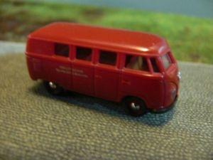 【送料無料】模型車 モデルカー スポーツカー #ドイツバス187 brekina 0816 vw t1 a deutsche bundesbahn db bus