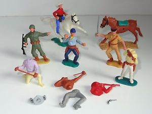 【送料無料】模型車 モデルカー スポーツカー ロットスペアeb timpo lot of horses figures amp; spares