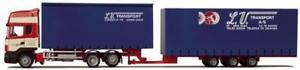 【送料無料】模型車 モデルカー スポーツカー トラックスカニアトランスポートawm lkw scania 4 r toplaerop tridemgakhz lvtransport