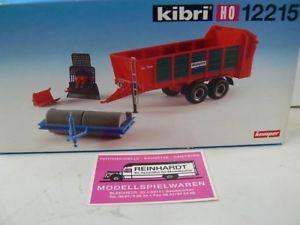 【送料無料】模型車 モデルカー スポーツカー ケンパートレーラ187 kibri 12215 kemper anhnger
