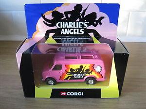 【送料無料】模型車 モデルカー スポーツカー コーギーチャーリーズエンジェルスヴァンミントコンディションcorgi cc87501 charlies angels van mint condition
