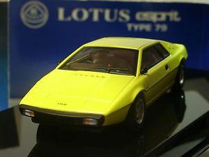 【送料無料】模型車 モデルカー スポーツカー ロータスエスプリタイプautoart lotus esprit typ 79, gelb 55311 143