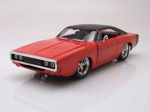 【送料無料】模型車 モデルカー スポーツカー オレンジブラックモデルカーdodge charger rt 1970 orangeschwarz, modellauto 124 jada toys