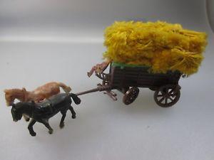 【送料無料】模型車 モデルカー スポーツカー コレクションキャリッジpferde kutsche mit heuballen aus ddr sammlung pk16