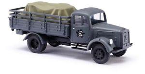 【送料無料】模型車 モデルカー スポーツカー ブッシュトラックロードbusch 80081 187 h0 lkw l3000 a mit ladegut neu