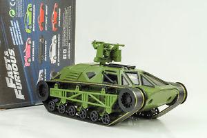 【送料無料】模型車 モデルカー スポーツカー タンクripsaw panzer fast and amp; furious 8 grn 124 jada