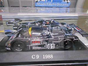 【送料無料】模型車 モデルカー スポーツカー メルセデスルマンルマン#シュレッサーネットワークsauber mercedes c9 le mans 1988 le mans 61 schlesser mass ixo altaya 143