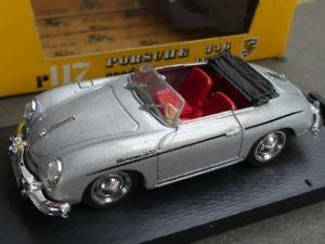 【送料無料】模型車 モデルカー スポーツカー ハムポルシェロードスター#シルバー143 brumm porsche 356 roadster silber 117