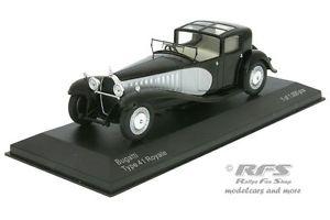 【送料無料】模型車 モデルカー スポーツカー ブガッティタイプロワイヤルブラックシルバーbugatti type 41 royale baujahr 1928  schwarz silber 143 whitebox 221