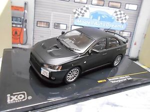 【送料無料】模型車 モデルカー スポーツカー ランサーエボラリーニュルブルクリンクテストネットワークmitsubishi lancer evo 10 x rallye nrburgring test ixo moc115 sonderpreis 143