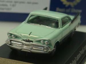 【送料無料】模型車 モデルカー スポーツカー ボスカスタムロイヤルランサーライトbos dodge custom royal lancer, hellgrn 87057 187