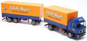 【送料無料】模型車 モデルカー スポーツカー トラックトレーラーマイヤーキャリアherpa man f90 lkw hngerzug j wilh meyer delmenhorst spedition 187 h0