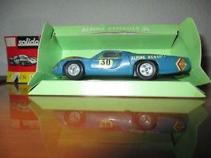 【送料無料】模型車 モデルカー スポーツカー アルパインルノービンテージoriginal solido alpine renault 3 l ref 168 box vintage old toy