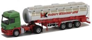 【送料無料】模型車 モデルカー スポーツカー トラックアクトロスタンクawm lkw mb actros mp3 laerop tanksz klsener