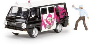 【送料無料】模型車 モデルカー スポーツカー バスneues angebot187 brekina dodge a 100 bus sheriff 34314