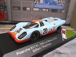 【送料無料】模型車 モデルカー スポーツカー ポルシェルマン#レッドマンネットワークporsche 917 k 1970 le mans 20 gulf siffert redman ixo edit 143