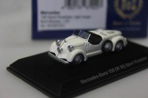 【送料無料】模型車 モデルカー スポーツカー ボスメルセデススポーツロードスターbos mercedes 150 sport roadster w30, weiss 87201 187