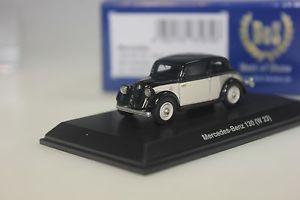 【送料無料】模型車 モデルカー スポーツカー ボスメルセデスベージュbos mercedes 130 w23, schwarz beige 87225 187