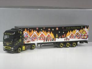 【送料無料】模型車 モデルカー スポーツカー クラストタークリスマスklasse herpa exclusiv man sattelzug weihnachten 2009 in ovp