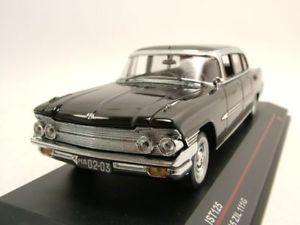 【送料無料】模型車 モデルカー スポーツカー セダンブラックモデルカーモデルzil 111g limousine 1965 schwarz, modellauto 143 ist models