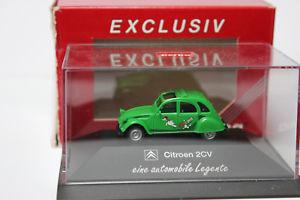 【送料無料】模型車 モデルカー スポーツカー シトロエンダックモデルcitroen 2 cv ente 187 sondermodell legente grn