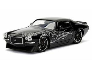 【送料無料】模型車 モデルカー スポーツカー シボレーカマロjada toys 124 chevrolet camaro ss flammes 1971 99970bk
