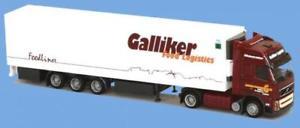 【送料無料】模型車 モデルカー スポーツカー トラックボルボawm lkw volvo fh3 xl globaerop khlksz galliker
